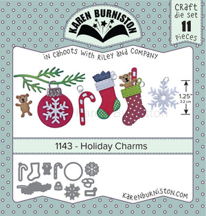 Karen Burniston - Dies - Holiday Charms (Pre-Order. Ships early Nov)