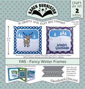 Karen Burniston - Dies - Fancy Winter Frames (Pre-Order. Ships early Nov)