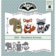 Karen Burniston - Dies - Woodland Animals