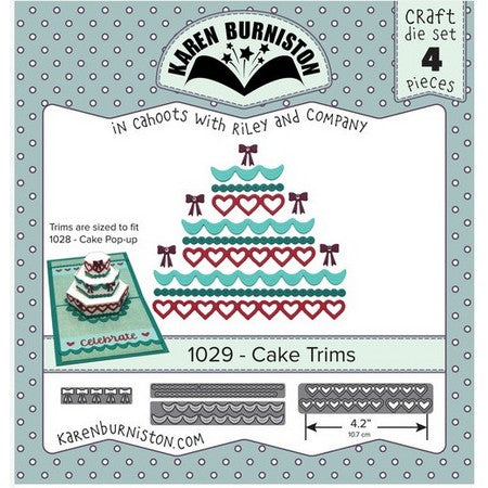 Karen Burniston - Dies - Cake Trims
