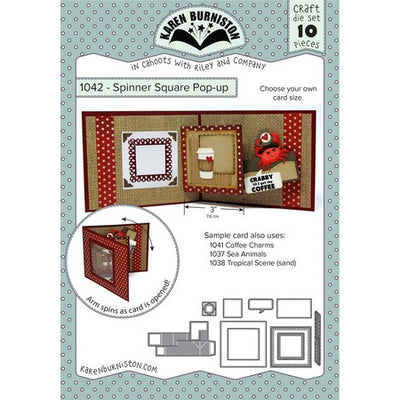 Karen Burniston - Dies - Spinner Square Pop-Up
