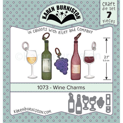 Karen Burniston - Dies - Wine Charms