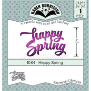 Karen Burniston - Dies - Happy Spring