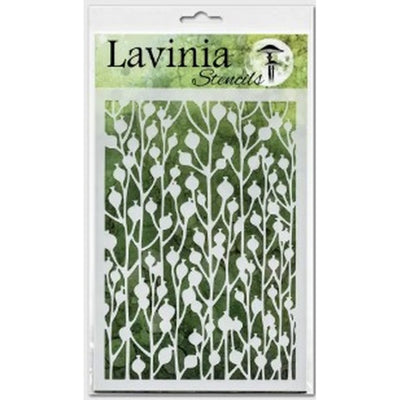 Lavinia Stencil - Berry (Ships End Of August)