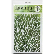 Lavinia Stencil - Coral (Ships End Of August)