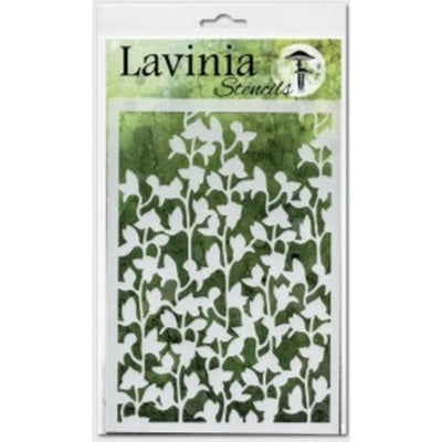 Lavinia Stencil - Orchid (Ships End Of August)