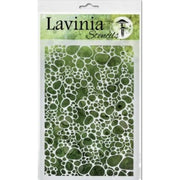 Lavinia Stencil - Pebble (Ships End Of August)