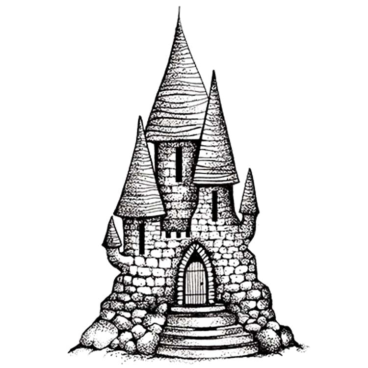 Lavinia Stamp -Fairy Castle 2