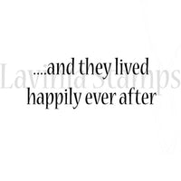 Lavinia Stamp - Happily ever after