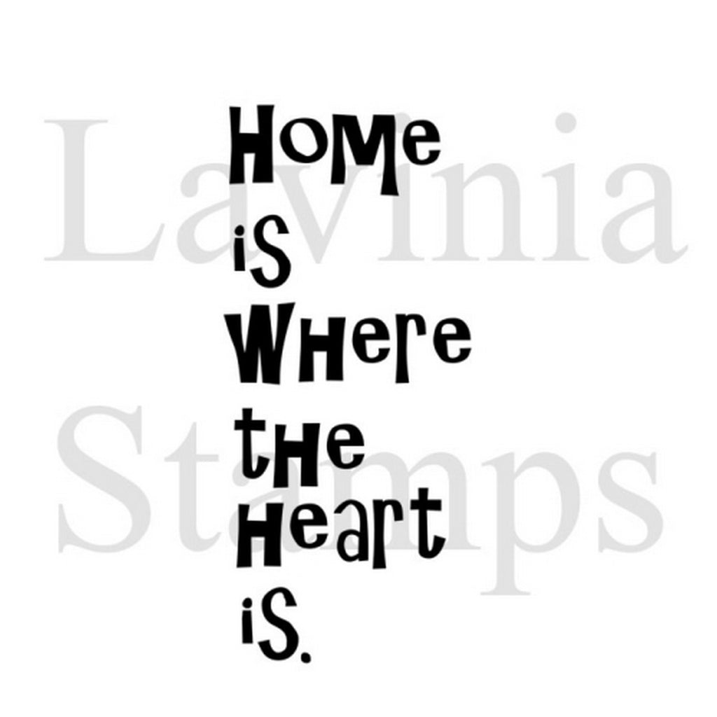 Lavinia Stamps - Home Is Where