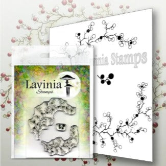 Lavinia Stamps - Berry Wreath (LAV568) (Ships mid-late Nov)