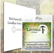 Lavinia Stamps - Red Leaves (LAV574) (Ships mid-late Nov)