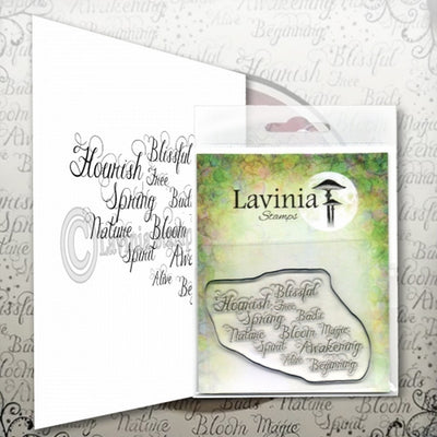 LAV593 - Lavinia Stamp - Words Of Spring