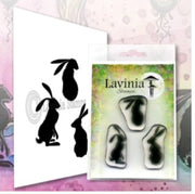 Lavinia  Stamps - Wild Hares Set (LAV608) (Pre-Order. Ships Early-Mid April)