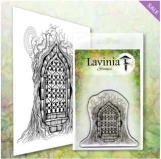 Lavinia  Stamps - Forest Temple (LAV611) (Pre-Order. Ships Early-Mid April)