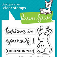 Lawn Fawn - Believe In Yourself Stamps