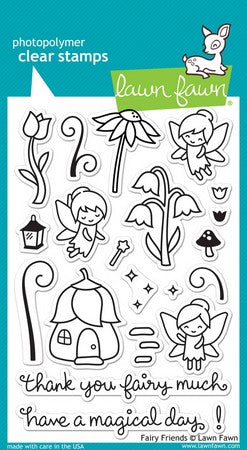 Lawn Fawn - Fairy Friends Stamps