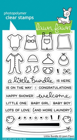 Lawn Fawn - Little Bundle Stamps