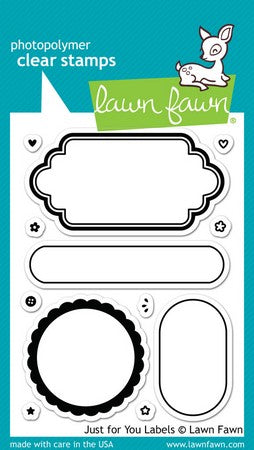 Lawn Fawn - Just For You Labels Stamps