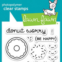 Lawn Fawn - Donut Worry Stamps