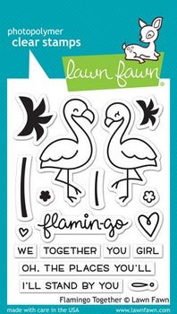 Flamingo Together - Lawn Fawn