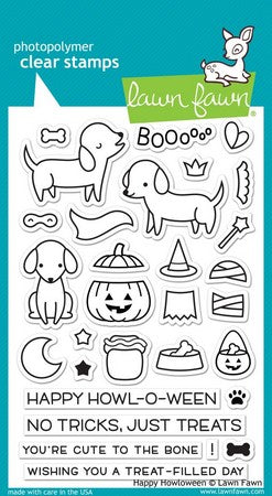 Lawn Fawn - Happy Halloween Stamps