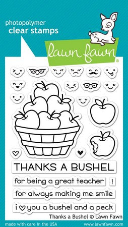 Lawn Fawn - Thanks A Bushel Stamps