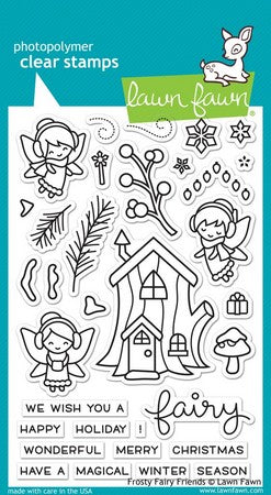 Lawn Fawn - Frosty Fairy Friends Stamps