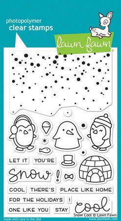 Lawn Fawn - Snow Cool Stamps