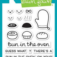 Lawn Fawn - Bun In The Oven Stamps