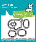 Lawn Fawn - Bun In The Oven Dies