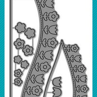 Lawn Fawn - Flower Hillside Pop-Up Add On Dies