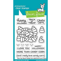 Lawn Fawn - How You Been? Candy Corn Add-On Stamps