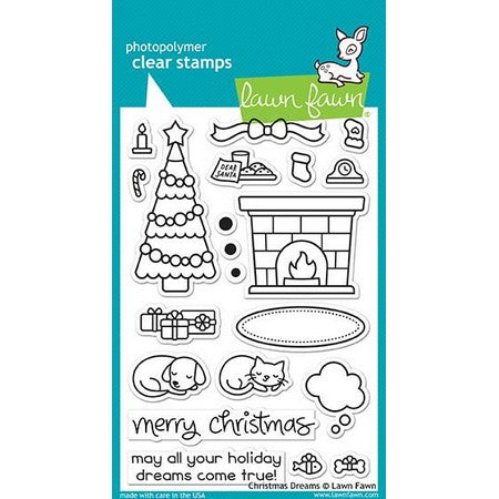Lawn Fawn - Christmas Dreams Stamps
