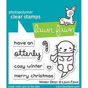 Lawn Fawn - Winter Otter Stamps