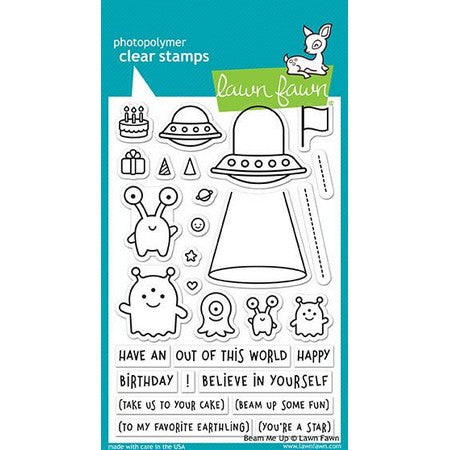 Lawn Fawn - Beam Me Up Stamps