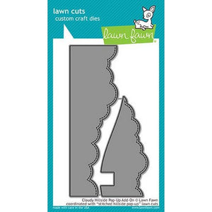 Lawn Fawn - Cloudy Hillside Pop-Up Add-On Dies