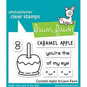 Lawn Fawn - Caramel Apple Stamps