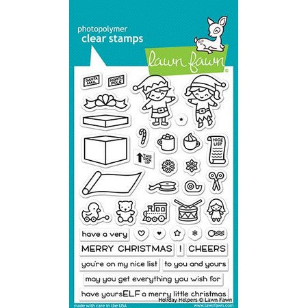 Lawn Fawn - Holiday Helpers Stamps