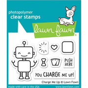 Lawn Fawn - Charge Me Up Stamps