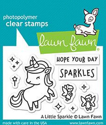 Lawn Fawn - A Little Sparkle Stamps