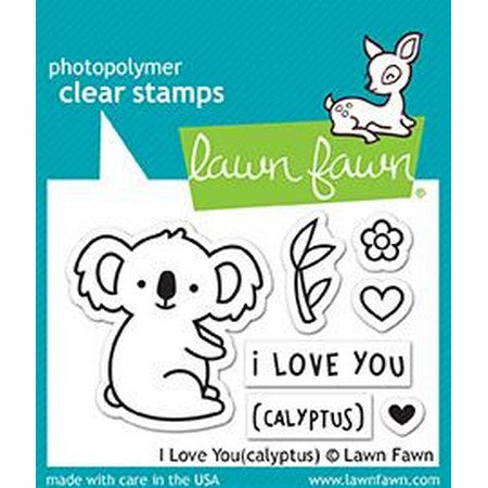 Lawn Fawn - I Love You Stamps