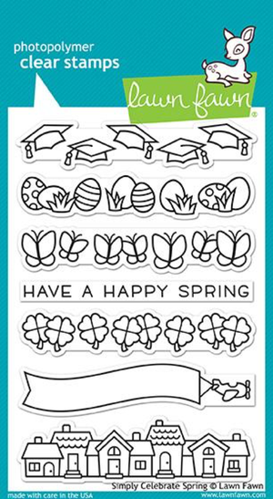 Lawn Fawn - Simply Celebrate Spring Stamps