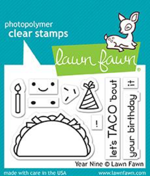 Lawn Fawn - Year Nine Stamps