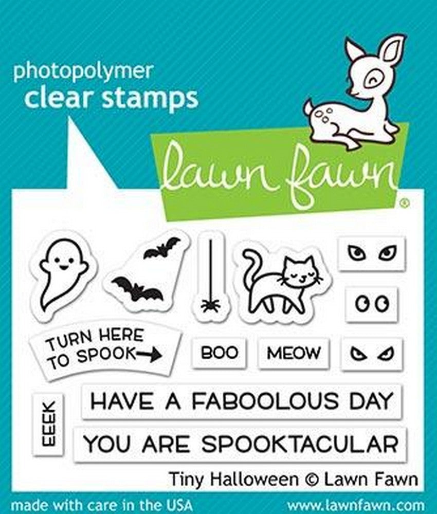 Lawn Fawn - Tiny Halloween Stamps