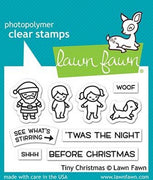 Lawn Fawn - Tiny Christmas Stamps