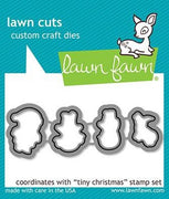Lawn Fawn - Tiny Christmas Dies