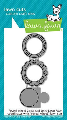 Lawn Fawn - Reveal Wheel Circle Add-On Dies