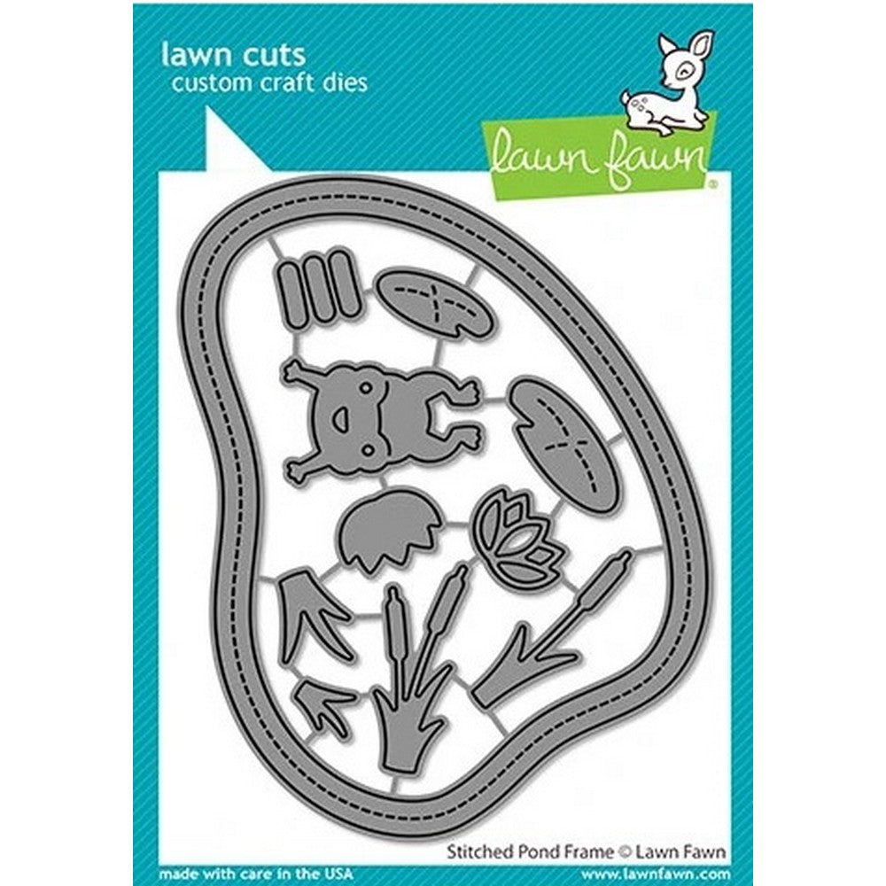 Lawn Fawn - Stitched Pond Frames Dies