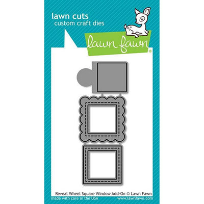 Lawn Fawn - Reveal Wheel Square Window Add-On Dies